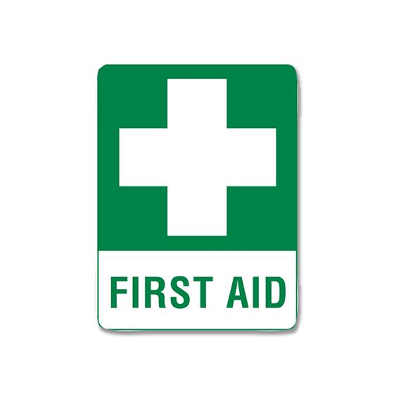 AeroSupplies First Aid Signs (Small Metal)>