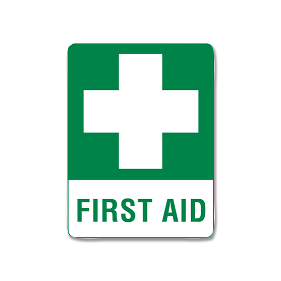 AeroSupplies First Aid Signs (Small Poly)>