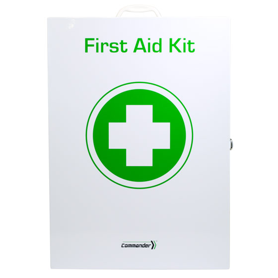 Commander 6 Series – First Aid Kit Metal Cabinet>