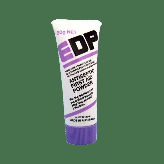 Evans Dermal Antiseptic Powder (EDP)>