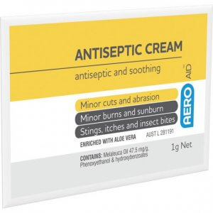 AeroAid Antiseptic Cream - Sachets