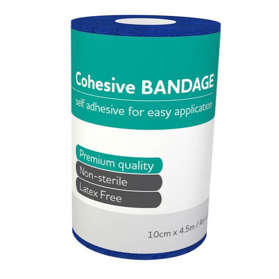AeroBan Cohesive Bandages 10cm x 4.5m>