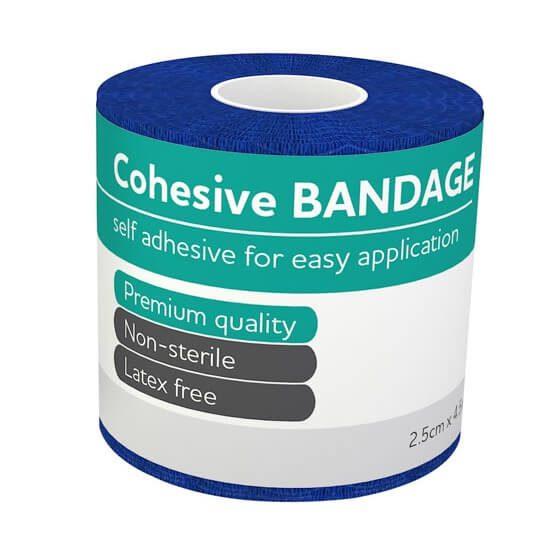 AeroBan Cohesive Bandages 2.5cm x 4.5m>
