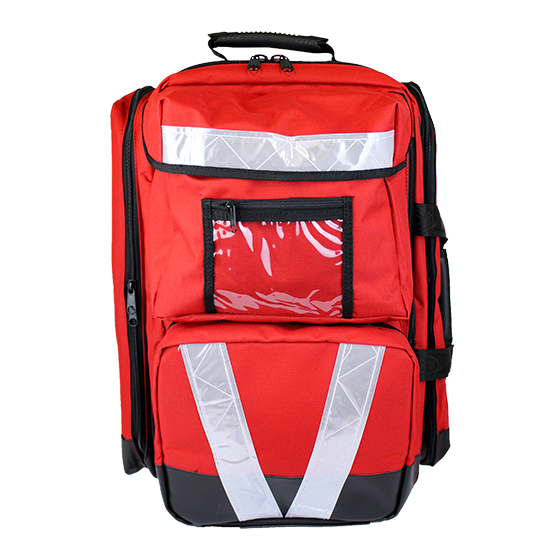 Red Softpack First Aid Bags – Trauma, Large>