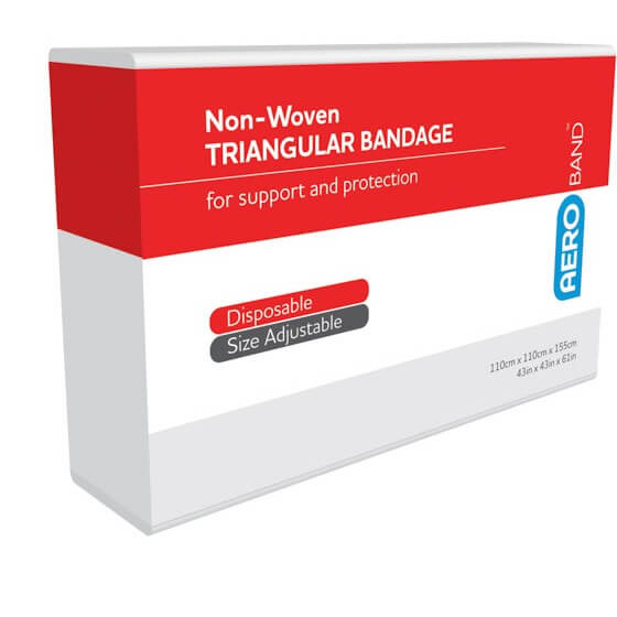 AeroBand Non-Woven Triangular Bandages 110cm x 110cm x 155cm>