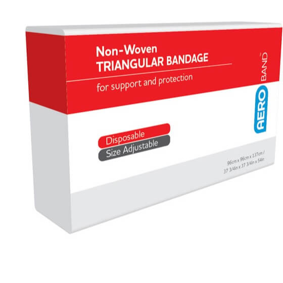 AeroBand Non-Woven Triangular Bandages 96cm x 96cm x 136cm>