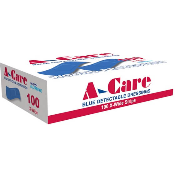 A-Care Detectable Bandages – Strips>