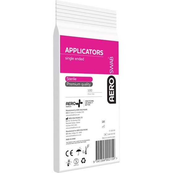 AeroSwab Single End Applicators>
