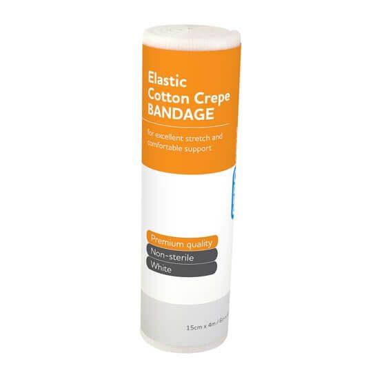 AeroCrepe Elastic Cotton Crepe Bandages 15cm x 4m>