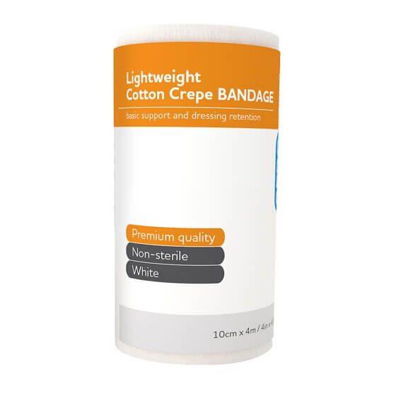AeroCrepe Light Cotton Crepe Bandages 10cm x 4m>