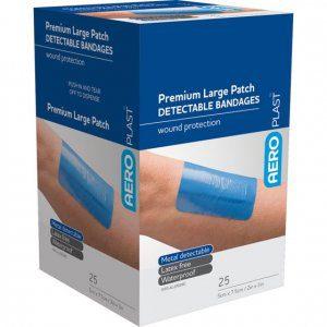 AeroPlast Premium Detectable Bandages - Patches