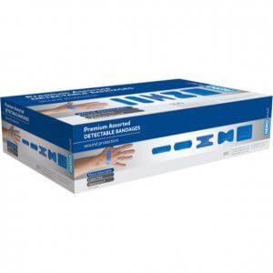 AeroPlast Premium Detectable Bandages - Assorted Dressings