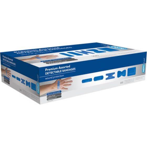 AeroPlast Assorted Premium Detectable Bandages>