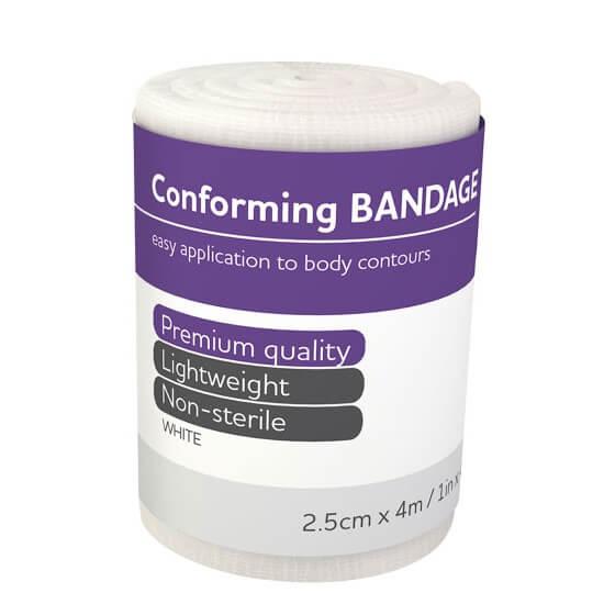 AeroForm Conforming Bandages 2.5cm x 4M>