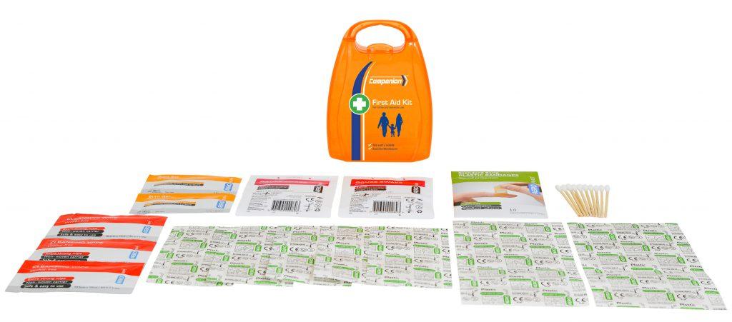 Image of AFAK1P Companion First Aid Plastic Case & Contents