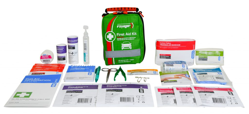 Image of AFAK2S Voyager First Aid Softpack & Contents