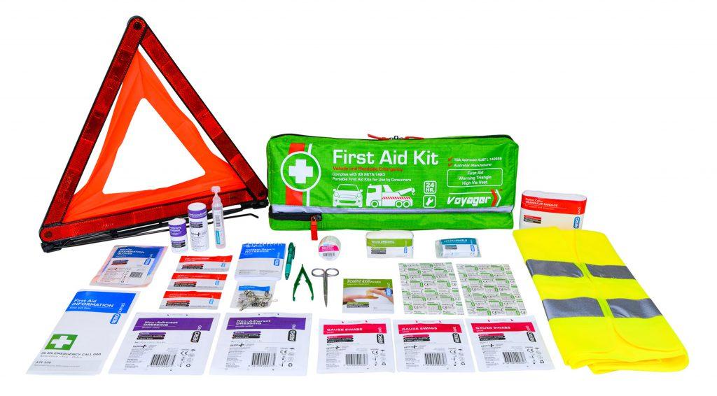 Aerokit AFAK2SV Roadside kit case and contents