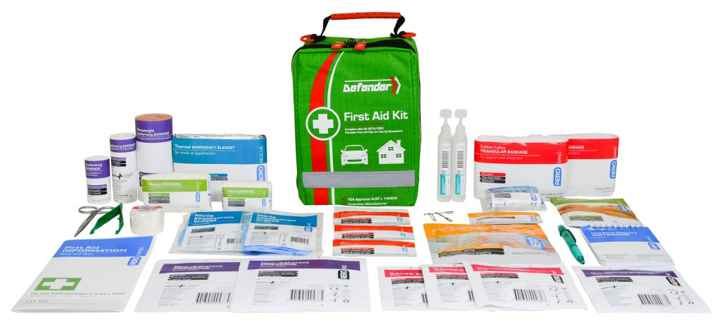 AeroKit AFAK3S Softpack kit and contents