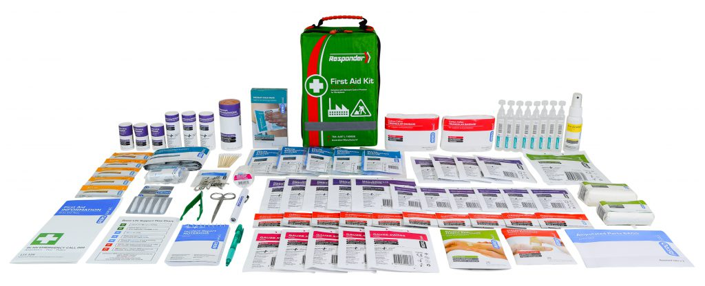 AeroKit AFAK4S Softpack kit and contents