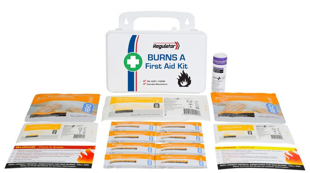 Aerokit AFAKBNA Regulator Burns kit case and contents