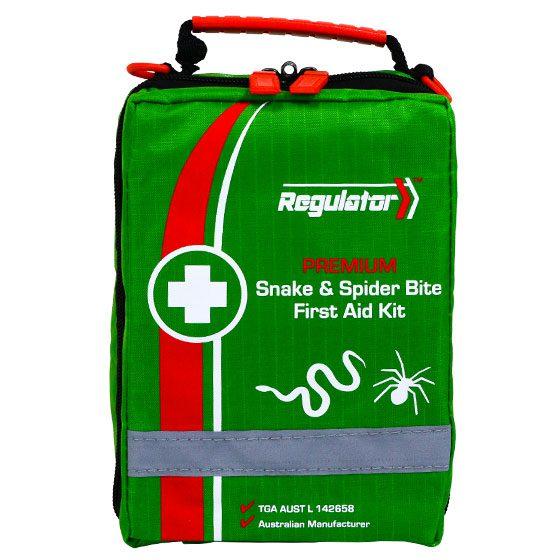 Regulator Premium Snake & Spider Bite – First Aid Kit>