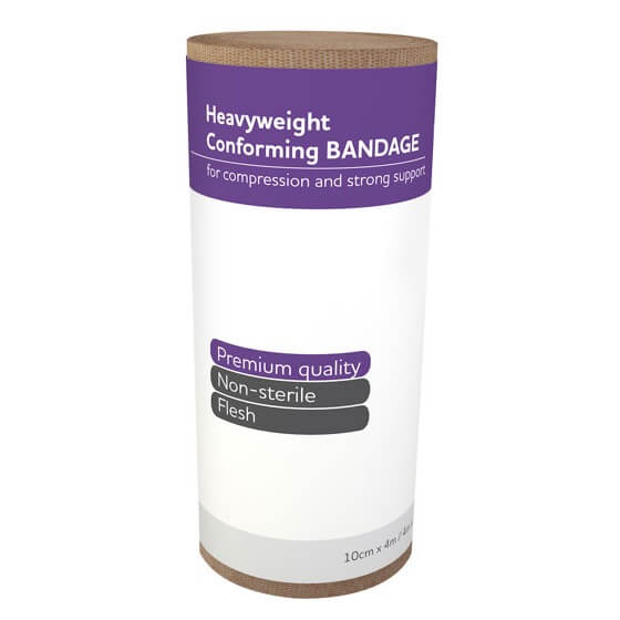 AeroForm Heavyweight Conforming Bandages 10cm x 4M>