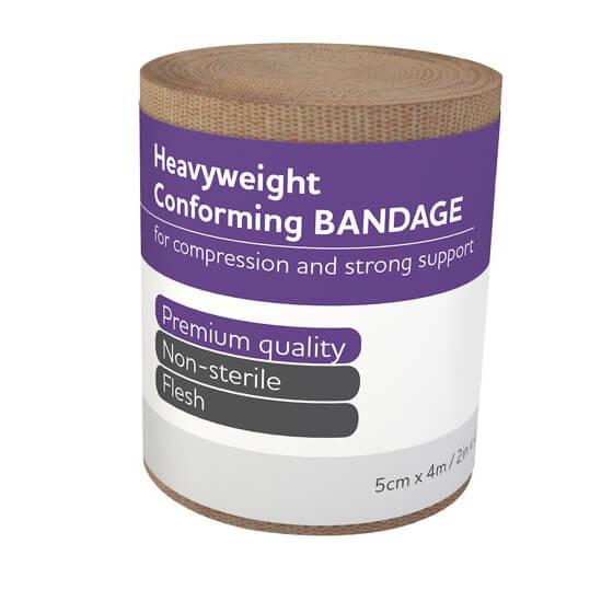 AeroForm Heavyweight Conforming Bandages 5cm x 4M>