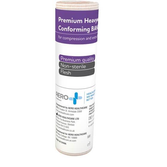 AeroForm Premium Heavy Weight Conforming Bandages 15cm x 4.5M>