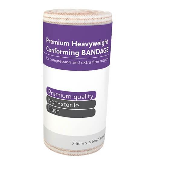 AeroForm Premium Heavy Weight Conforming Bandages 7.5cm x 4.5M>