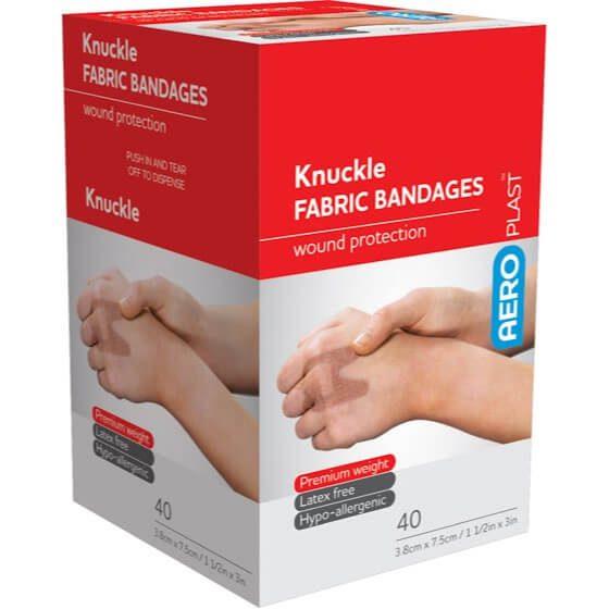 AeroPlast Premium Fabric Bandages – Knuckle Dressings>