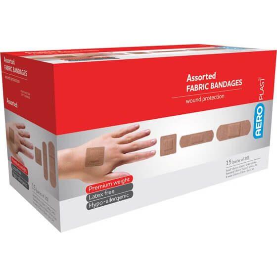 AeroPlast Premium Fabric Bandages – Assorted Dressings>