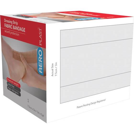 AeroPlast Premium Fabric Bandages – Dressing Strips>