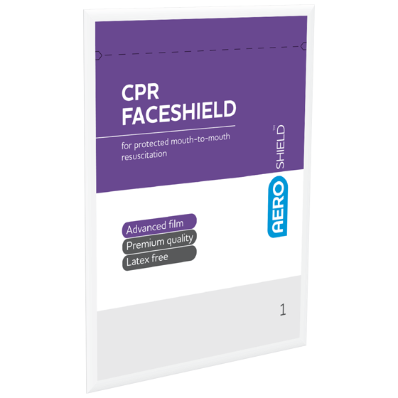 AeroShield Disposable CPR Face Shields shield/1>
