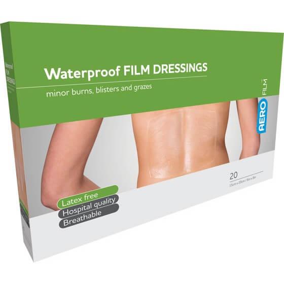 AeroFilm Waterproof Film Dressings 15cm x 20cm 20pk>