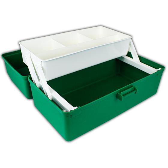 Green Plastic Case interior