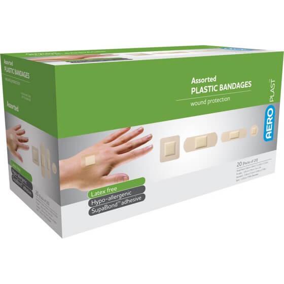 AeroPlast Plastic Bandages – Assorted Dressings>