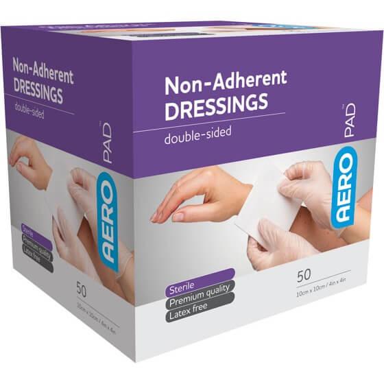 AeroPad Non-Adherent Dressing Pads 10 x 10cm>