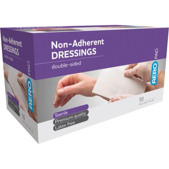 AeroPad Non-Adherent Dressing Pads 10x20cm>