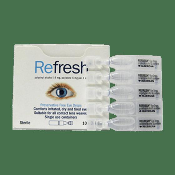 Refresh Eye Drops box/10>