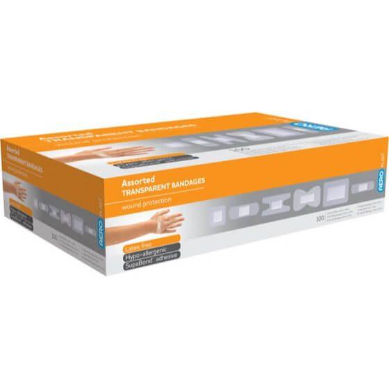 AeroPlast Transparent Bandages – Assorted Dressings>