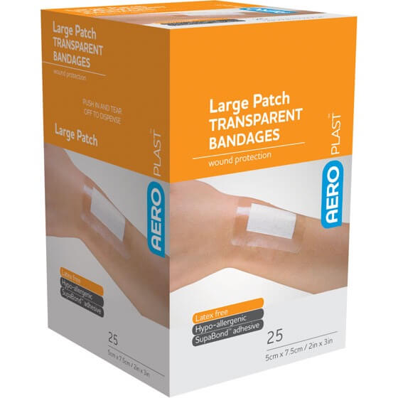AeroPlast Transparent Bandages – Patches>