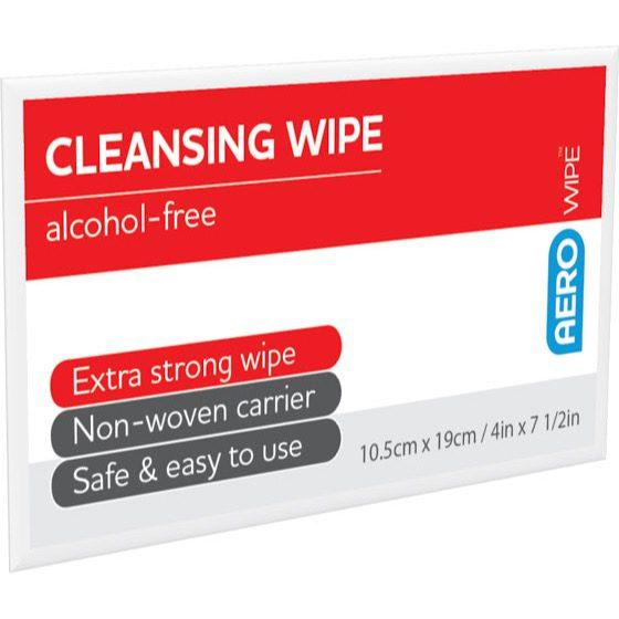 AeroWipe Alcohol-Free Cleansing Wipes Bulk Carton box/2000>