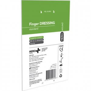 AeroWound Standard Finger Dressings 4.5cm x 4.5cm Bag/20