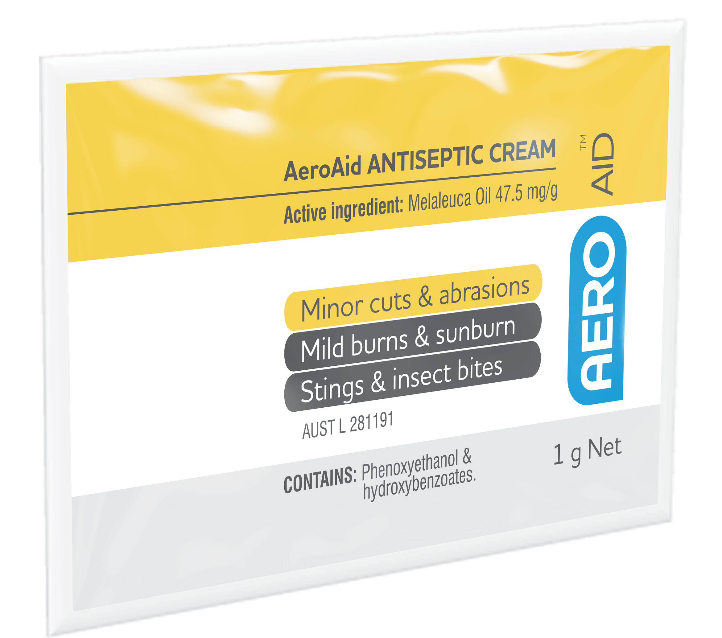 AeroAid Antiseptic Cream – Sachets>