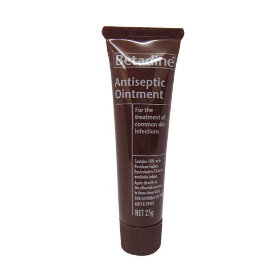 Betadine Povidone Iodine Antiseptic Ointment>