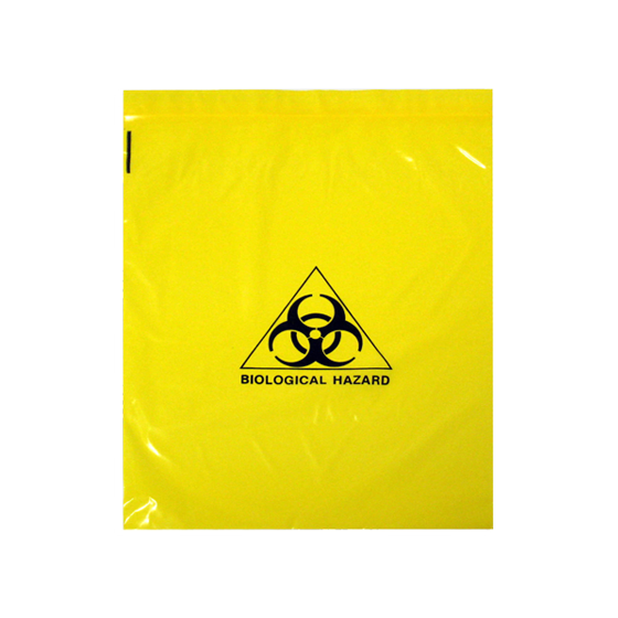 Biohazard Clinical Waste Bags 4L>