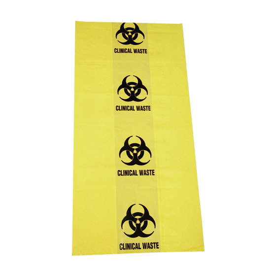 Biohazard Clinical Waste Bags 10L 350mm x 470mm>