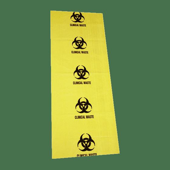 Biohazard Clinical Waste Bags 120L 490mmx470mm>