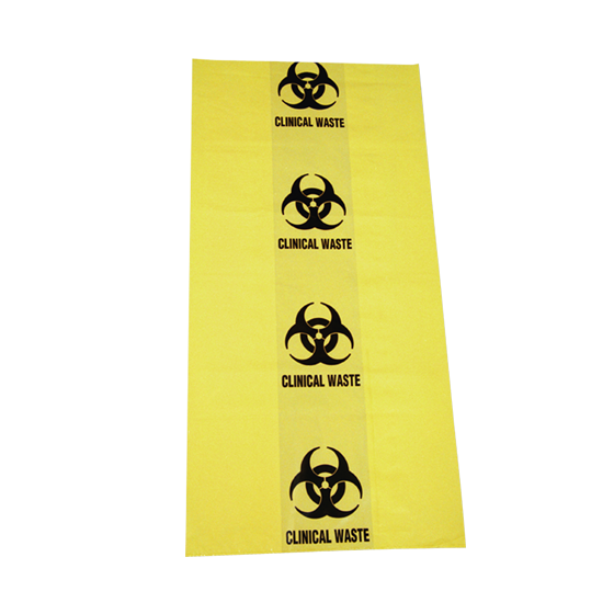 Biohazard Clinical Waste Bags 50L 630mm x 800mm>