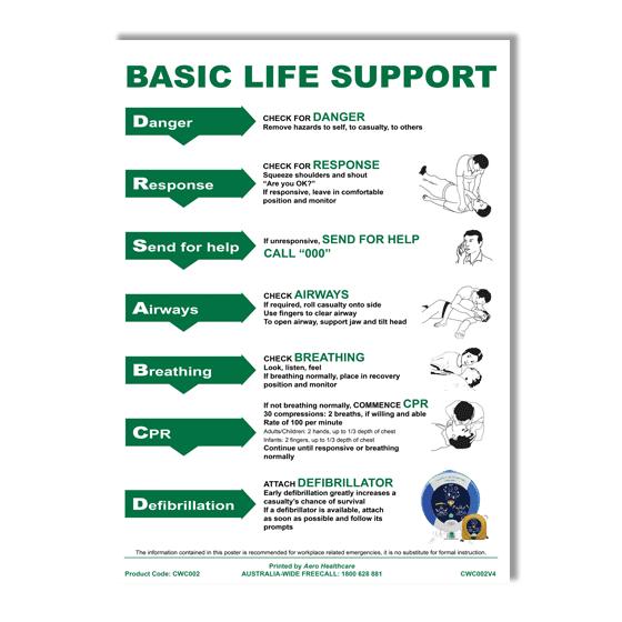 AeroGuide CPR Wall Chart>